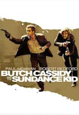 L'affiche du film Butch Kassidy and the Sundance Kid